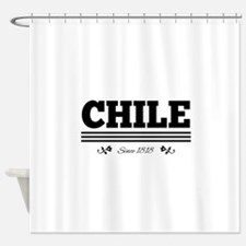 CHILE since 1818 Shower Curtain