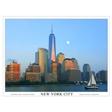 Freedom Tower One World Trade Wall Art Framed Print