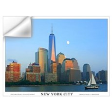 Freedom Tower One World Trade Wall Art Wall Decal