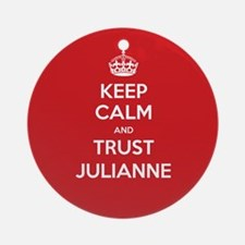 Trust Julianne Ornament (Round)