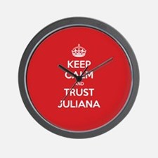 Trust Juliana Wall Clock