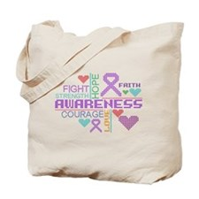 Ulcerative Colitis Slogans Tote Bag