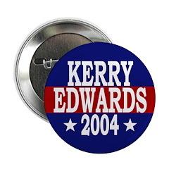 Kerry-Edwards 2004 Button