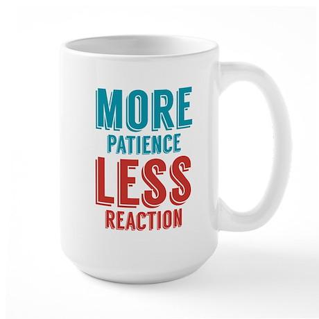 Patience Reaction Large Mug
