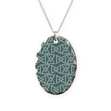 Triangles geometrical pattern Necklace