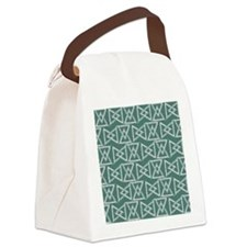 Triangles geometrical pattern Canvas Lunch Bag