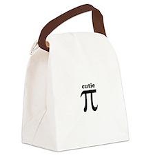 cutie Pi Canvas Lunch Bag
