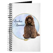 Cocker(brown) Portrait Journal
