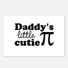 Daddys little cutie Pi Postcards (Package of 8)