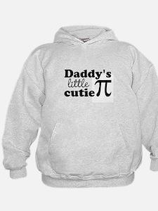 Daddys little cutie Pi Hoodie