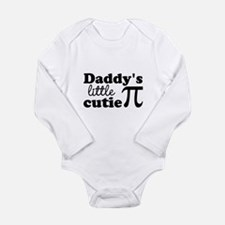 Daddys little cutie Pi Body Suit