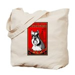 Obey the Schnauzer! Tote Bag
