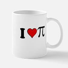 I Heart Pi Mugs