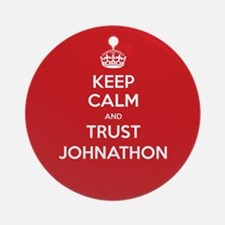 Trust Johnathon Ornament (Round)