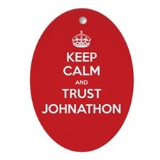 Trust Johnathon Ornament (Oval)