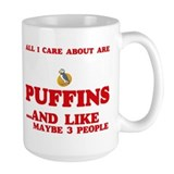 Puffin Large Mugs (15 oz)