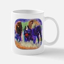 Rainbow Bison Mug