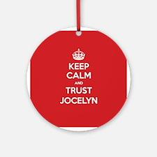 Trust Jocelyn Ornament (Round)