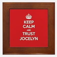 Trust Jocelyn Framed Tile