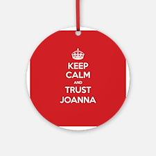 Trust Joanna Ornament (Round)