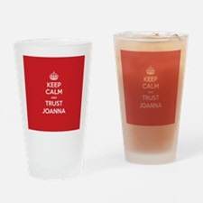 Trust Joanna Drinking Glass