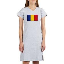 Romania Flag Women's Nightshirt