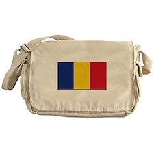 Romania Flag Messenger Bag