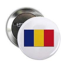 "Romania Flag 2.25"" Button"