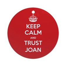 Trust Joan Ornament (Round)