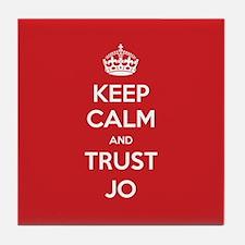 Trust Jo Tile Coaster