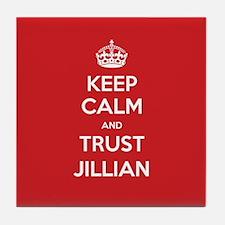 Trust Jillian Tile Coaster