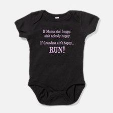 If Mama Aint Happy, Aint Nobody Happy Baby Bodysui
