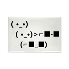 ASCII Unicode Sunglasses Deal With It Magnets