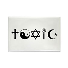 Religion Is Toxic Freethinker Magnets