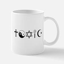 Religion Is Toxic Freethinker Mugs