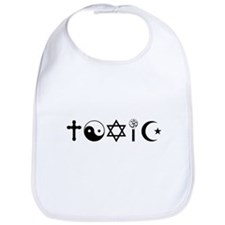 Religion Is Toxic Freethinker Bib