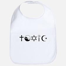 Religion Is Toxic Freethinker Bib