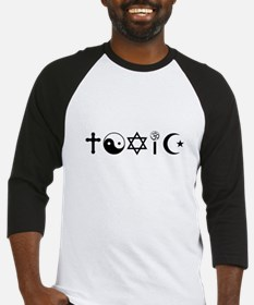 Religion Is Toxic Freethinker Baseball Jersey