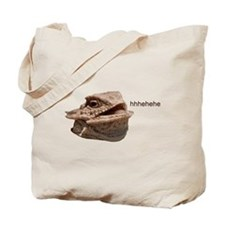 Laughing Iguana HeHe Lizard Tote Bag
