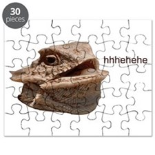 Laughing Iguana HeHe Lizard Puzzle