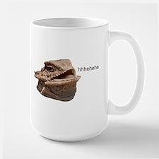 Laughing Iguana HeHe Lizard Mugs