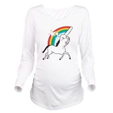 Unicorn meme Long Sleeve Maternity T-Shirt