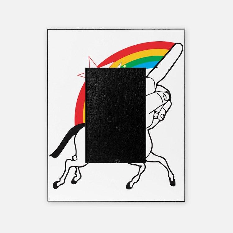 Unicorn meme Picture Frame