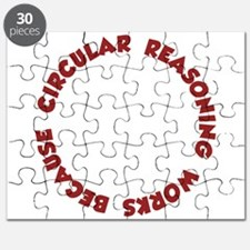Circular Reasoning Works Because It Does Puzzle
