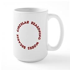 Circular Reasoning Works Because It Does Mugs