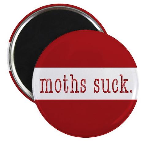moths suck. - Magnet (100 pk)