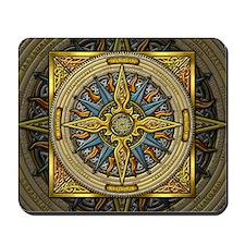 Celtic Compass Mousepad
