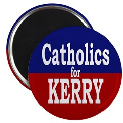 Catholics for Kerry Magnet (100 pack)