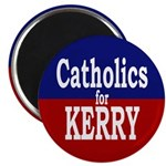 Catholics for Kerry Magnet (10 pack)
