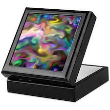 fascination fluid, multicolor2 Keepsake Box
